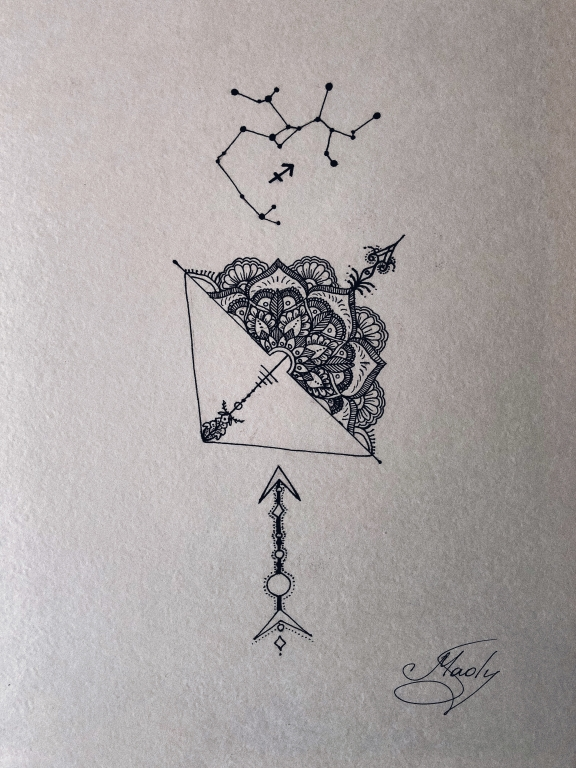 """Oxatan"" Mandala"