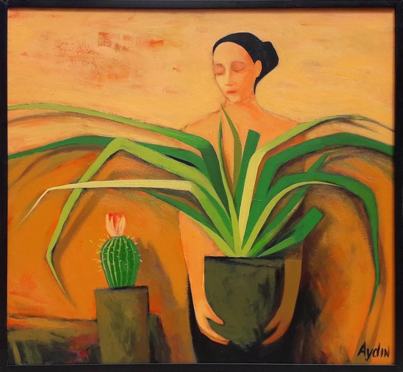 Tənha kaktus