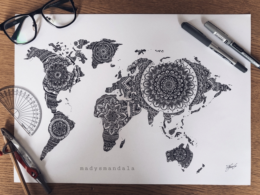 """Dünya"" Mandala"