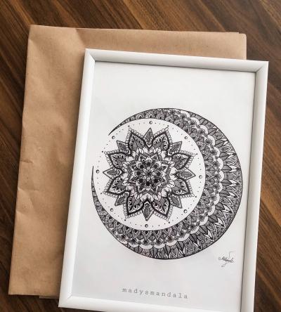 """Moon"" Mandala"