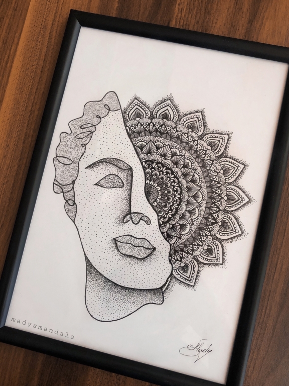 """Human's mind"" Mandala"