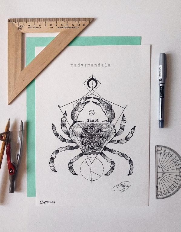"""""""Xərçəng"""" Mandala"""