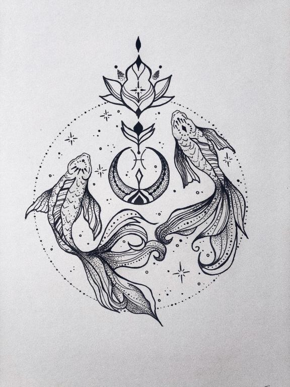"""""""Balıqlar"""" Mandala"""