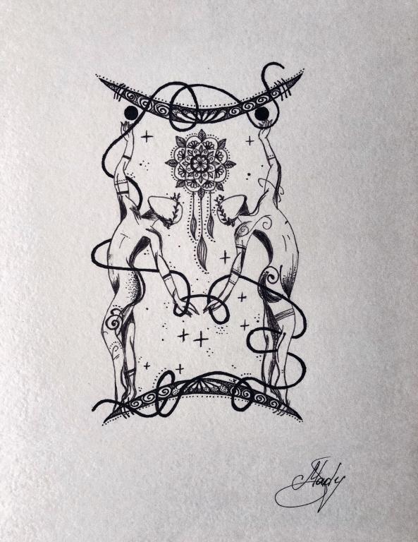 """""""Əkizlər"""" Mandala"""
