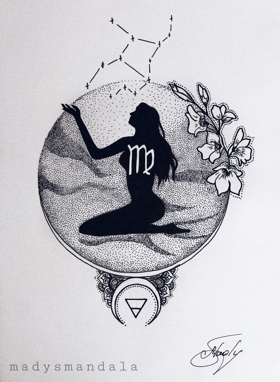 """Qız"" Mandala"