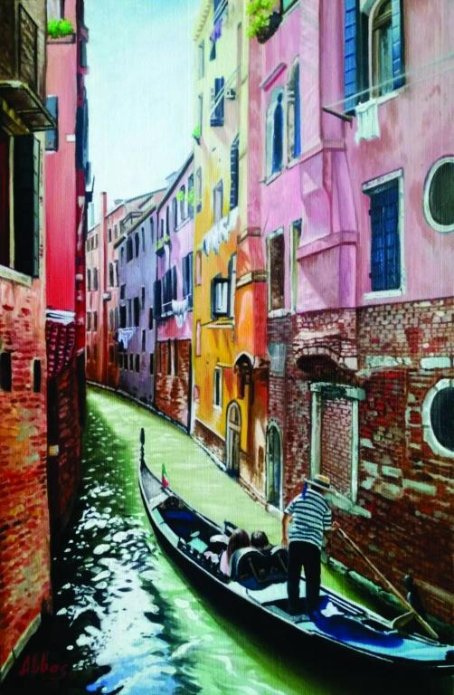 İşığa aparan yol. Venesiya