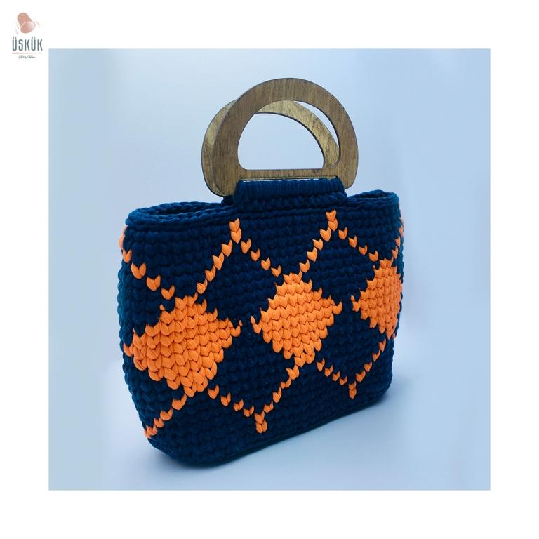 Macrame çanta